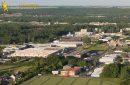 Etampes zone industrielle vue du ciel