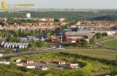 Etampes centre commercial vue du ciel