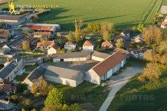 Bretonville Boinville-le-Gaillard vue du ciel