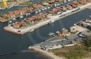 Port du canal de Gujan-Mestras vue du ciel