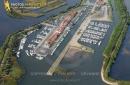 Port de plaisance d'Audenge vue du ciel