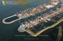 Port de Gujan-Mestras vue du ciel