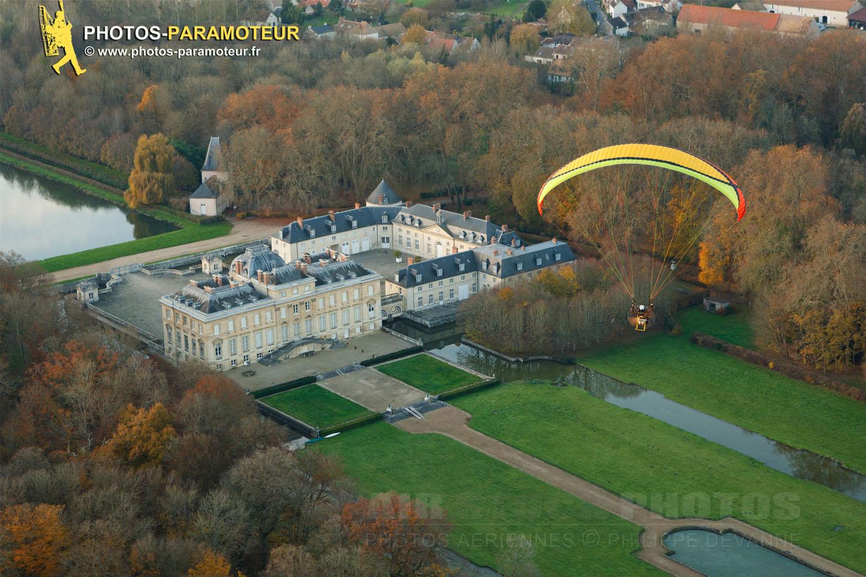 Vol d'automne Chateau du marais 91