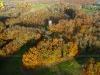 Vol d'automne Saint Chéron vue du ciel