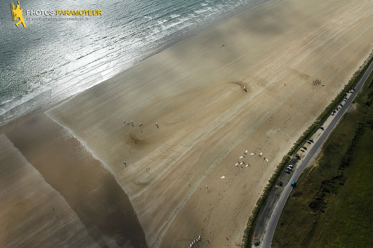 Char a voile, Pentrez plage , Finistère