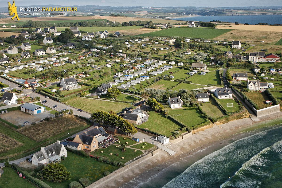 Goulit ar Guer vue du ciel , Plomodierm, Finistère