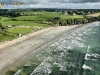 Plage de Trezmalaouen vue du ciel, Kerlaz, Finistère