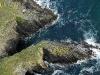 Falaises de Ty Mark, Plomodiern Finistère