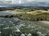 Anse de Kervigen vue du ciel, Finistère
