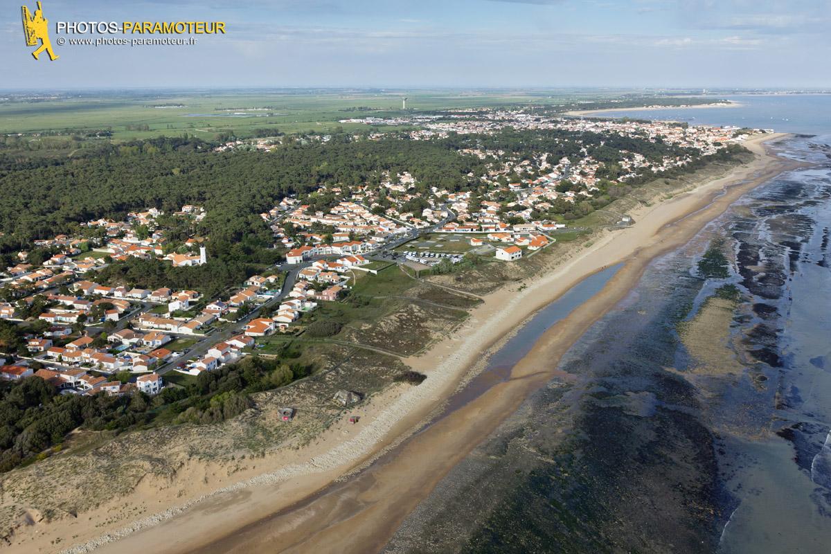Photo aérienne La Tranche-sur-Mer Vendée