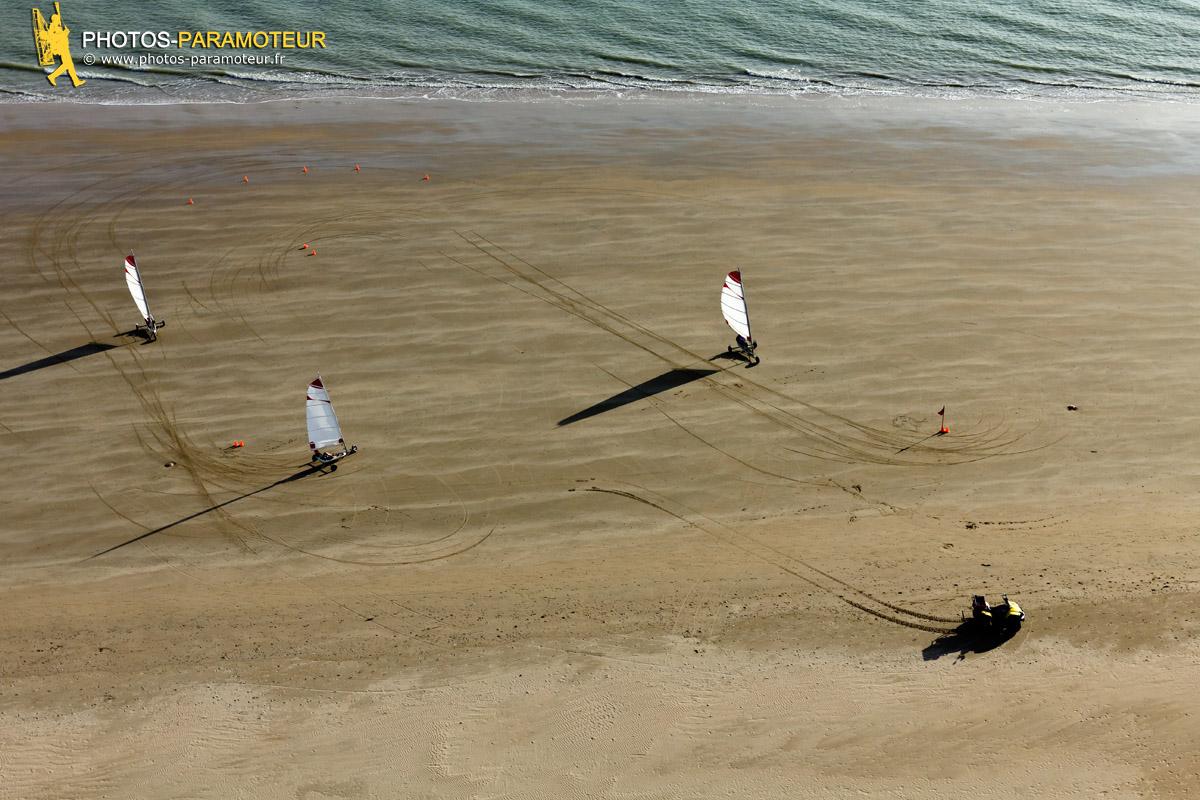Char a voile plage d'Arçais La faute-sur-Mer