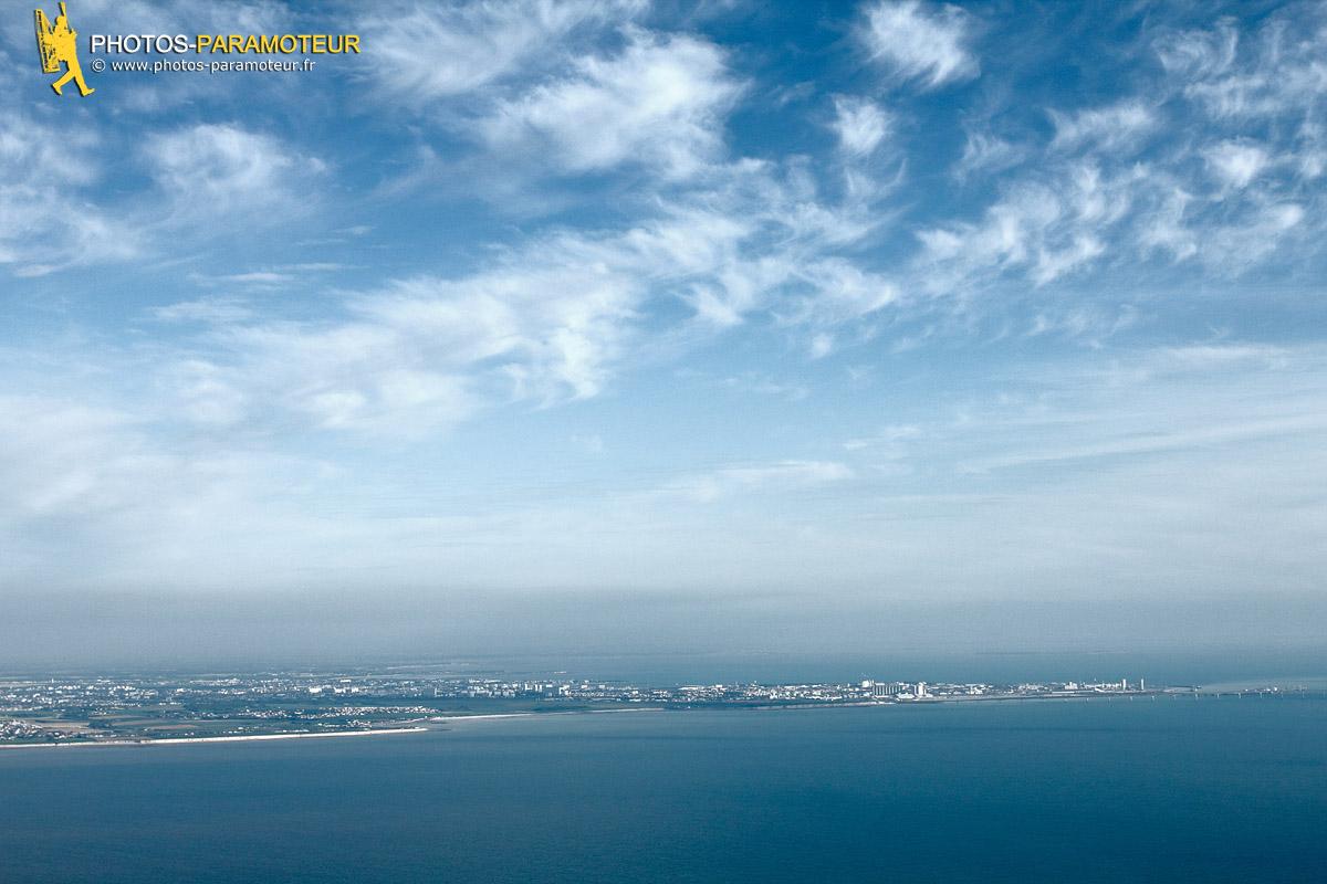 Photo aérienne de la Rochelle vu de la Pointe d'Arçais