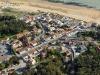 Photo aérienne plage du Rocher, Longeville-sur-Mer