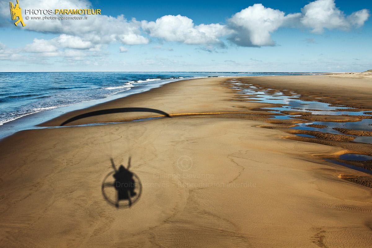 Paramoteur côte sauvage, Pointe de la Coubre