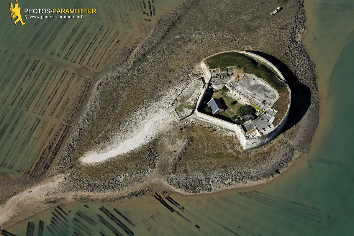 Photo aérienne du Fort Enet