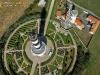 Photo aérienne du phare de Chassiron, île d'Oléron