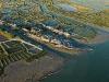 Port ostréicole de Marennes vue du ciel