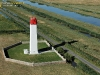 photo aérienne du Phare du fort vasoux