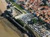 Vue aérienne Fort Vauban à Fouras