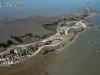 Vue aérienne de la pointe de la fumée à Fouras