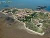 Pointe Ste-Catherine, île d'Aix vue du ciel