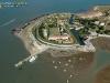 Fort de la Rade, île d'Aix vue du ciel