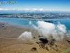 île d'Oléron et nuages vue du ciel