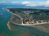 vue aérienne de Saint-Trojan-les-Bains sur l'île d'Oléron