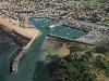 vue aérienne port de   Saint-Pierre-d'Oléron