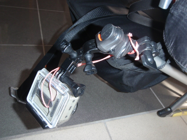 Systeme Gopro-HD   pour video en paramoteur