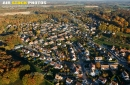 Angervilliers centre ville vue du ciel