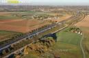 Vaugrigneuse autoroute A10 Aquiiaine vue du ciel