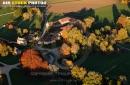 Château de Courson vue du ciel