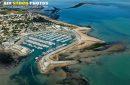 Port de plaisance de Saint-Denis-d'Oléron  vue du ciel