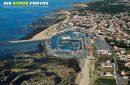photo aérienne port de la Cotinière
