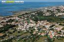 vue aérienne de La Cotinière, Saint-Pierre-d'Oléron