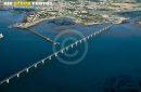 Pont de l'île d'Oléron vue du ciel
