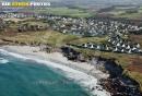Lampaul-Plouarzel , Finistère vue du ciel