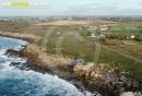 Pointe de Landunvez  vue du ciel