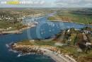 Ber ar Groaz et Lanidut , Bretagne Finistère vue du ciel