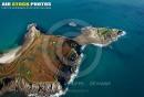 Fort de l'Îlette de Kermorvan,  Le conquet vue du ciel