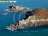 Presqu'île de Kermorvan,  Le conquet vue du ciel