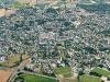 Cité médiévale de Guérande vue du ciel
