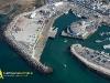 Photo aérienne du port de la Turballe