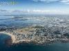 Batz-sur-Mer et les marais salants de Guérande  vue du ciel