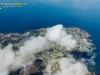 Photo aérienne au dessus des nuages de Piriac-sur-Mer