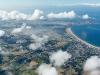 Au dessus des nuages de La Turballe, Guérande, Le Croisic