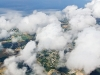 Vol au dessus des nuages de Bretagne