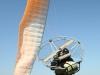 Pilote paramoteur atterrissage
