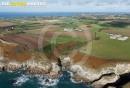 Plougonvelin, la côte Finistère vue du ciel